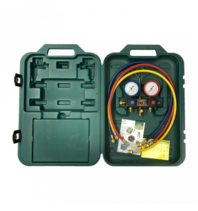 REFCO MANOMETERSTÄLL M2-3-DELUXE-DS R410A 60