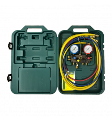 REFCO MANOMETERSTÄLL M4-3-DELUXE-DS R410A 60