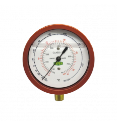 "MANOMETER - REFCO - M2-555-DS-R32 - HP - R32/R410A 1/8"" NPT - 68"