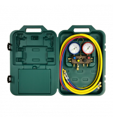 REFCO MANOMETERSTÄLL M4-3-DELUXE-DS-R448A-CA-CCL-60 R452A/R448A/R449A
