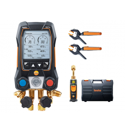 TESTO DIGITALT MANOMETERSTÄLL - 557s